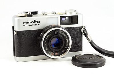Minolta Hi-Matic G, 1974