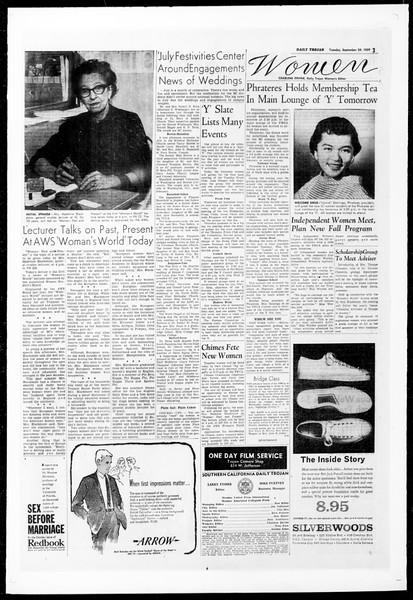 Daily Trojan, Vol. 51, No. 7, September 29, 1959