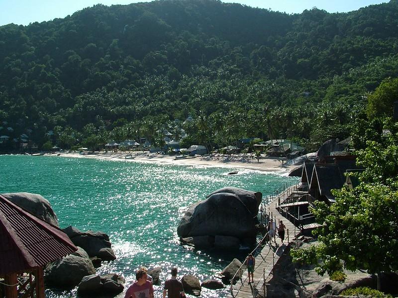 A view of Haad Yuan Beach