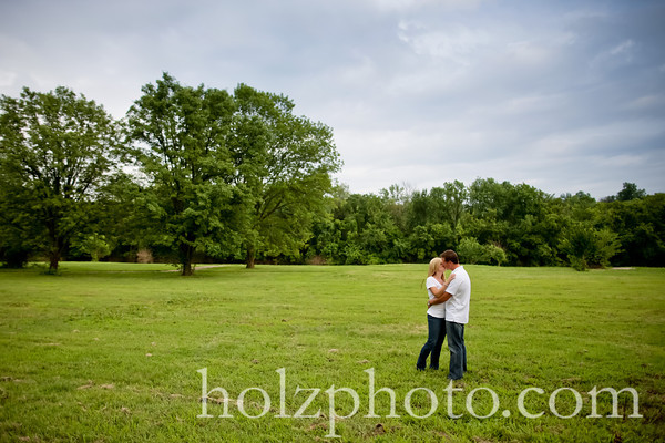 Tiffany and B.j. Color Engagement Photos (Louisville, KY)