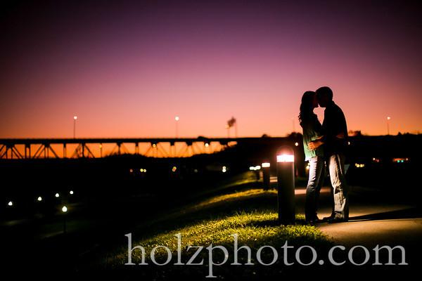 Chanda & Brent - Color Engagement Photos