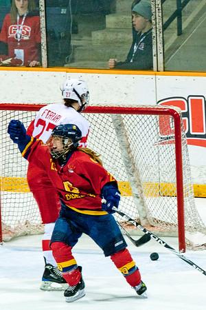 Women's Hockey - Queen's vs. McGill 20110312