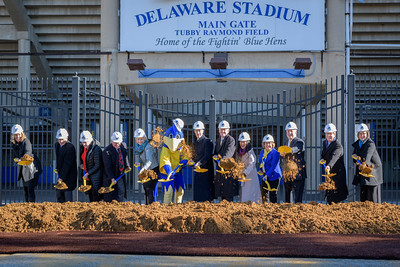 Whitney Athletic Center Groundbreaking Ceremony 12-18-2018