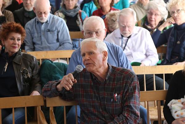 Pomfret Town Meeting, 2016