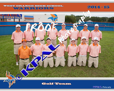 Boys Golf Team Photos 2014