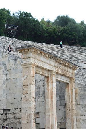 Ancient Theatre at Epidaurus - 7/4/2009