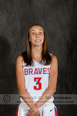 Girls Varsity Basketball - 2012