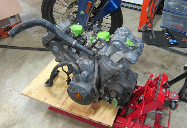 KTM 990 Engine swap