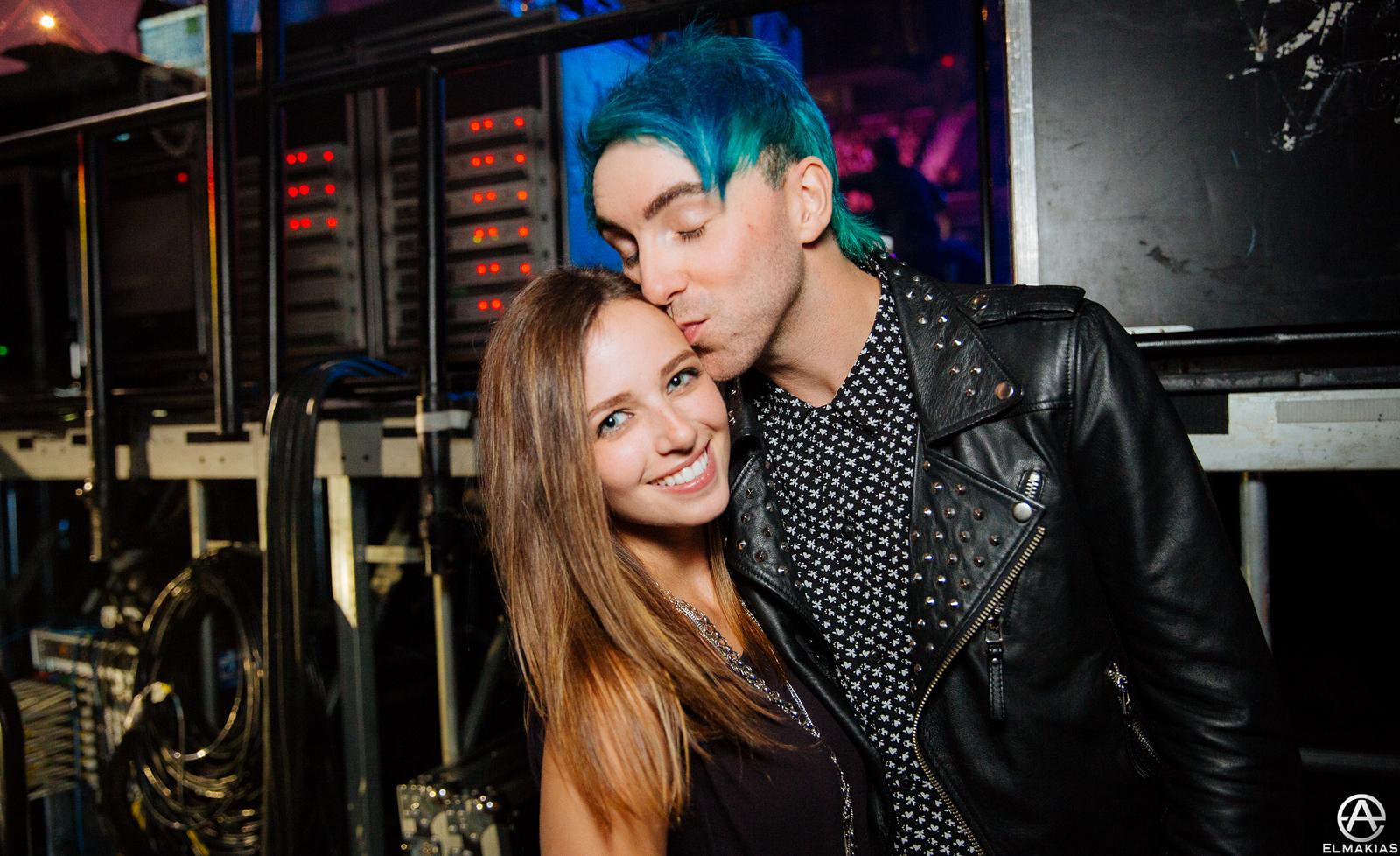 Alex Gaskarth and Lisa Ruocco at the 2015 Alternative Press Music Awards by Adam Elmakias
