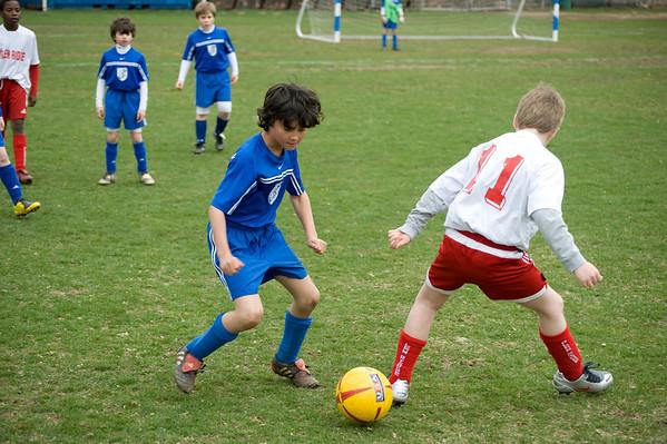 Boys Travel Soccer 2007 - 2008