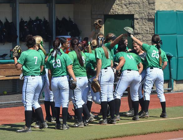 Softball v. Wright State-2015-Rick Haye