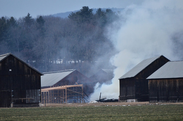Feb. 1, 2014 shed fire at One Hundred Acres Way