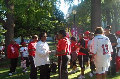 Delta Cancer Walk