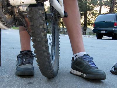 2010-12-08 - Winter Creek Shoe test