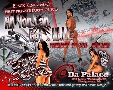 Black Kingz MC First Private Party Of 2013