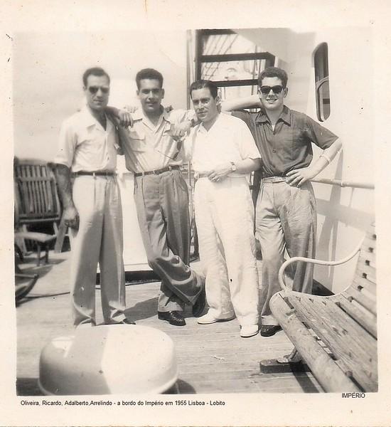 Imperio 1955  Lisboa- Lobito