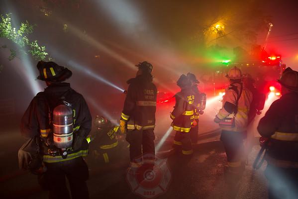 2-11 Alarm of Fire 1018-1020 W. 78th Street August 6, 2016