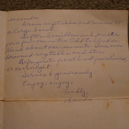 Barbara's Recipe Box