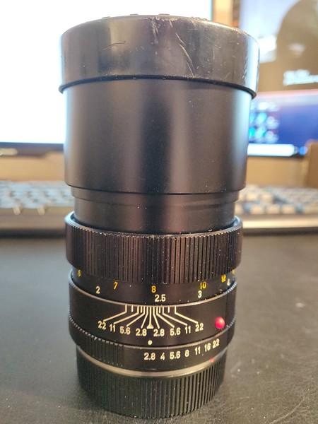 Leica R 135mm 2.8 Elmarit-R II - Serial 2363970 001.jpg