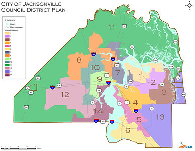 Jacksonville City Council Redistricting