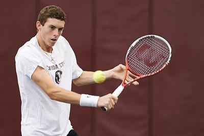 FSU Mens Tennis v Mercer Jan 2014