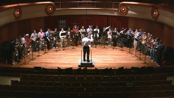 2008-2009 Wind Ensemble & Symphonic Band