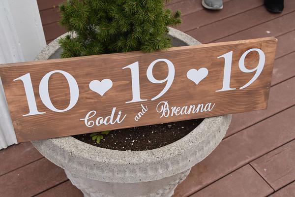 Breanna & Codi's 10-19-19 Wedding