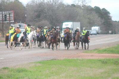 64th Annual Old Spanish Trail Ride - Logansport, La., to Houston Livestock Show & Rodeo