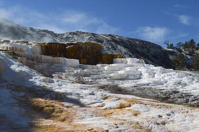 Mammoth Hot Springs/Yellowstone Nat'l Park/WY - Sept., 2014