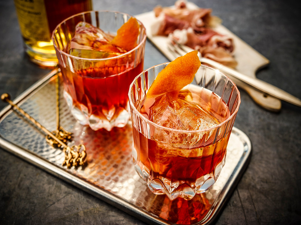 . For National Scotch Day (July 27), try the Boulevardier, featuring Monkey Shoulder, the world�s first triple-malt Scotch. With a sweet and rich vanilla flavor and exceptionally smooth finish it is perfect for the Scotch novice as well as the expert. www.monkeyshoulder.com.<br> - 1 ½ parts Monkey Shoulder<br> - 1 part sweet vermouth<br> - 1 part Campari<br> Add all ingredients to mixing glass. Add cold dry ice and stir. Once dilution is reached, strain into glass.