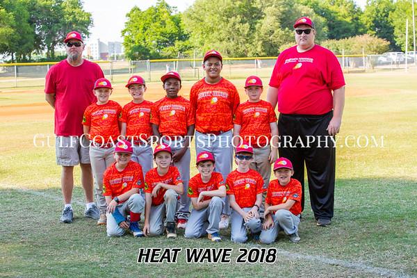 Bill Bond Baseball Heat Wave