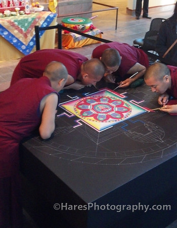 Mandala Sand Art - Crow Collection