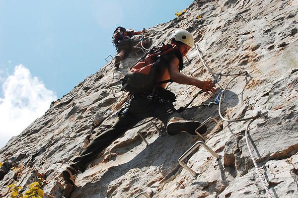 Nelson Rocks Via Ferrata, WV
