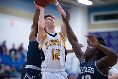 2020.03.06 Boys Basketball: GW-Danville @ Loudoun County, 4A Quarterfinal