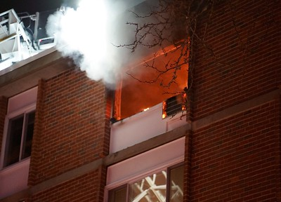 3 Alarm Building Fire - 85 Spring St, New Britain, CT. - 2/3/21