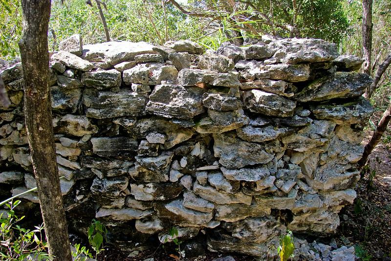 Ancient Arawak Indian Dwelling