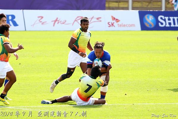 2014年亞洲運動會運七人制橄欖球賽(Asian Games Series)
