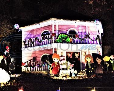 Athens Drive-Thru Christmas Display by Sandra Boynton