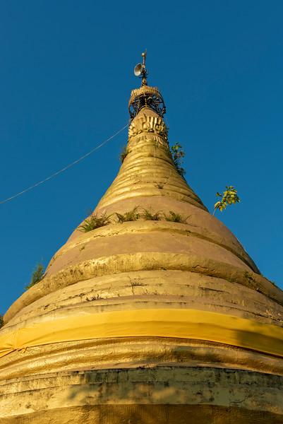 Shwetaung Pagoda, Mrauk U, Burma