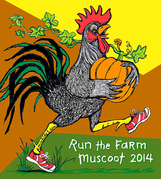 2014 Run The Farm Art