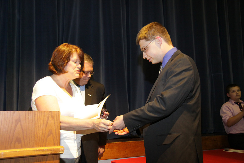 Awards Night 2012 -  Student of the Year: AP Biology