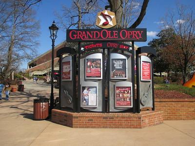 Nashville, TN - Grand Ole Oprey