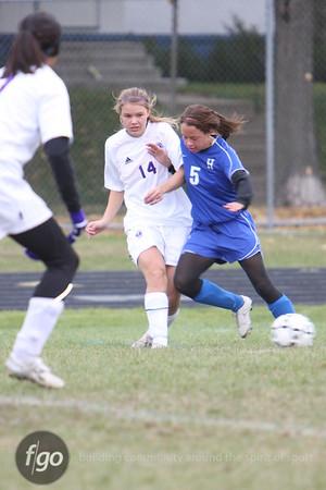 Southwest v Hopkins Girls Soccer Regionals 10-13-09