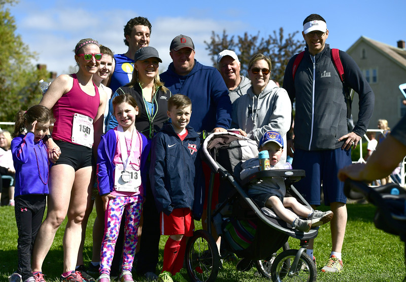 5/11/2019 Mike Orazzi | Staff Participants during the 16th annual Race in The Park held Saturday in New Britain.