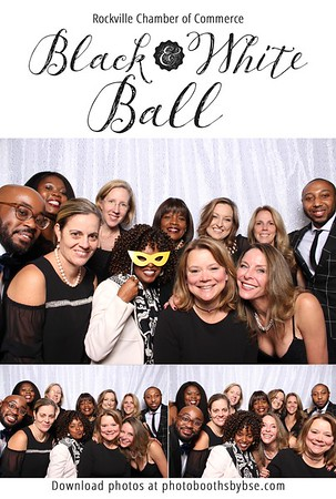 Rockville Chamber Of Commerce Black & White Ball 2018