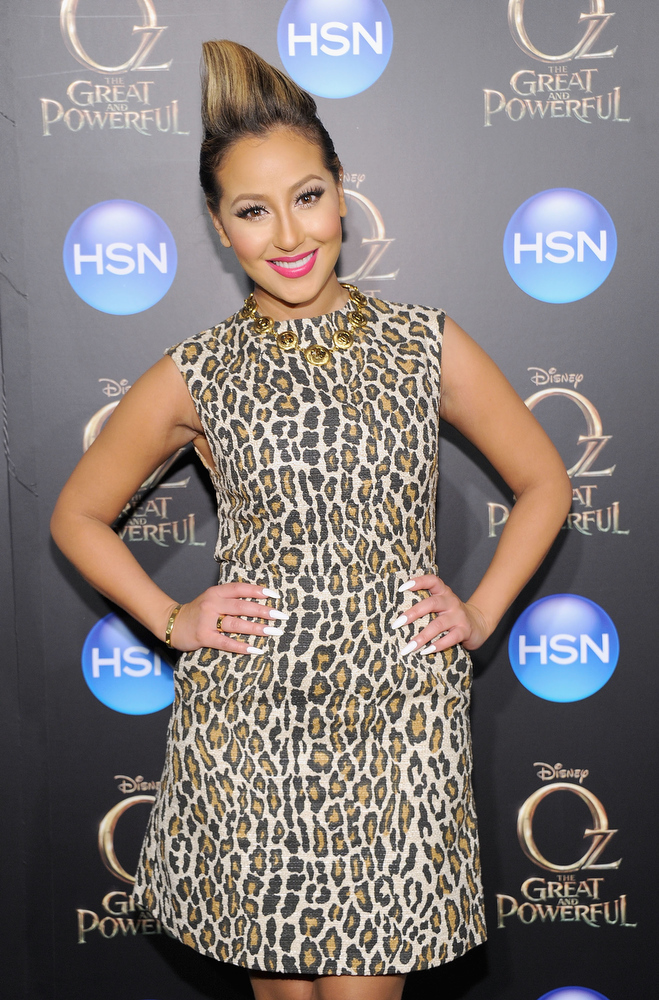 ". Adrienne Bailon attends the ""Oz The Great And Powerful\"" VIP screening at the Crosby Street Hotel on March 5, 2013 in New York City.  (Photo by Jamie McCarthy/Getty Images)"