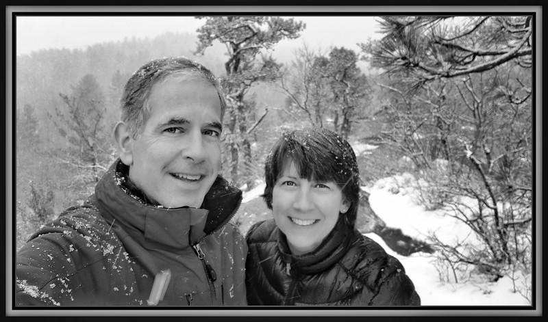 2018-03-14 Barkhamsted Reservoir Rock Overlook Snow V(1) Sandy Tony Selfie Mom Dad-02-01