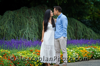 Engagement Session at the Deep Cut Gardens