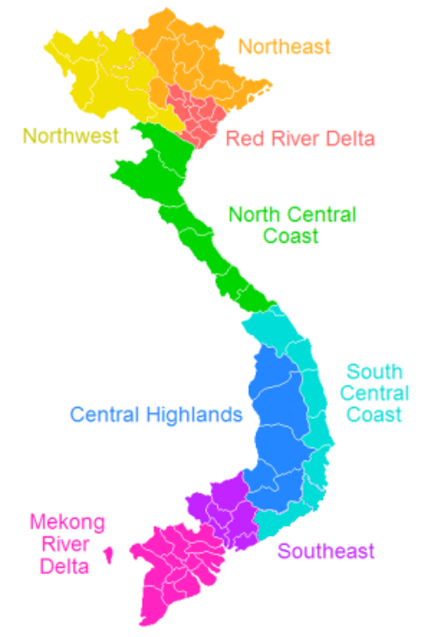 Regions of Vietnam