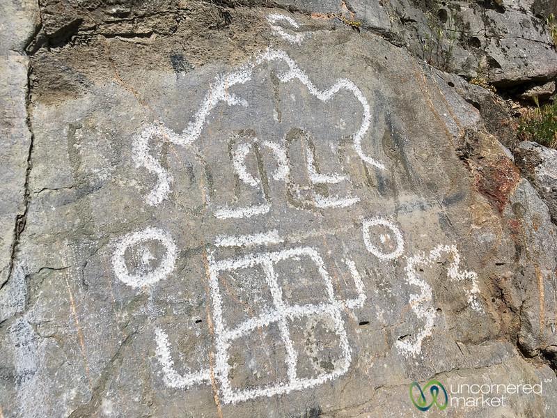 Petroglyphs - Osh, Kyrgyzstan